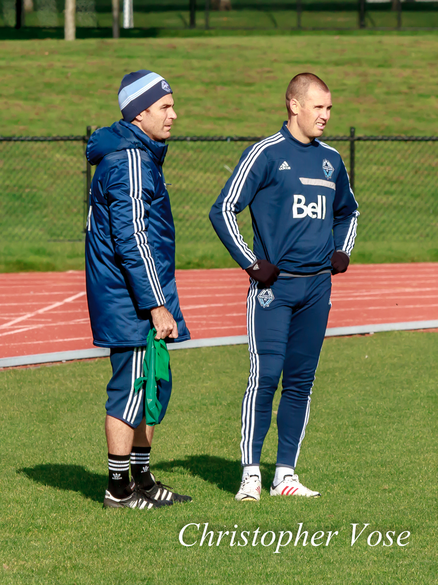 2013-10-14 Graeme Poole and Kenny Miller.jpg