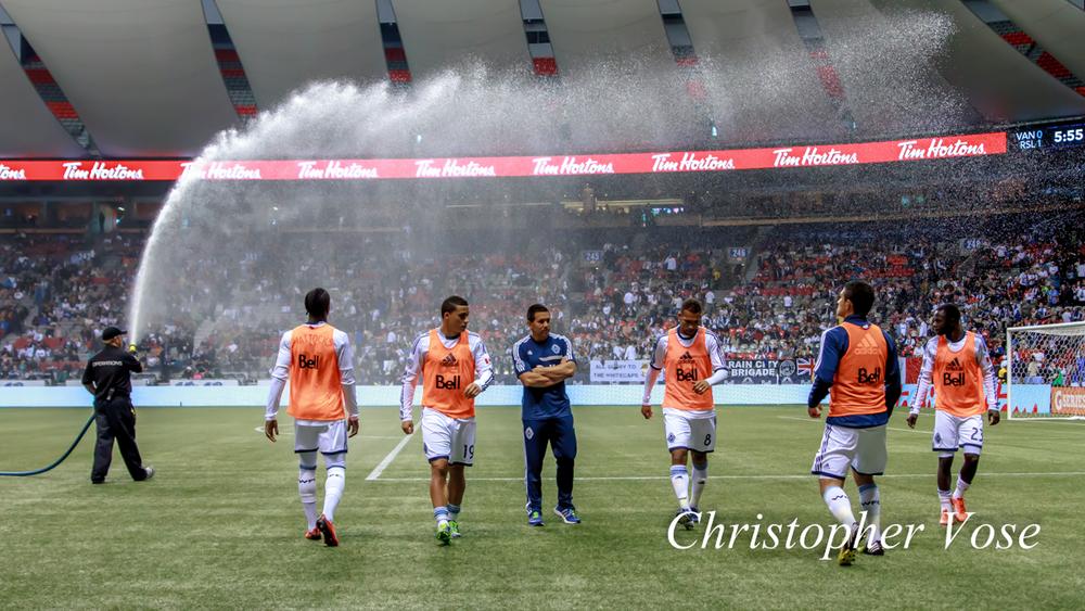 2013-09-28 Vancouver Whitecaps FC Substitutes.jpg