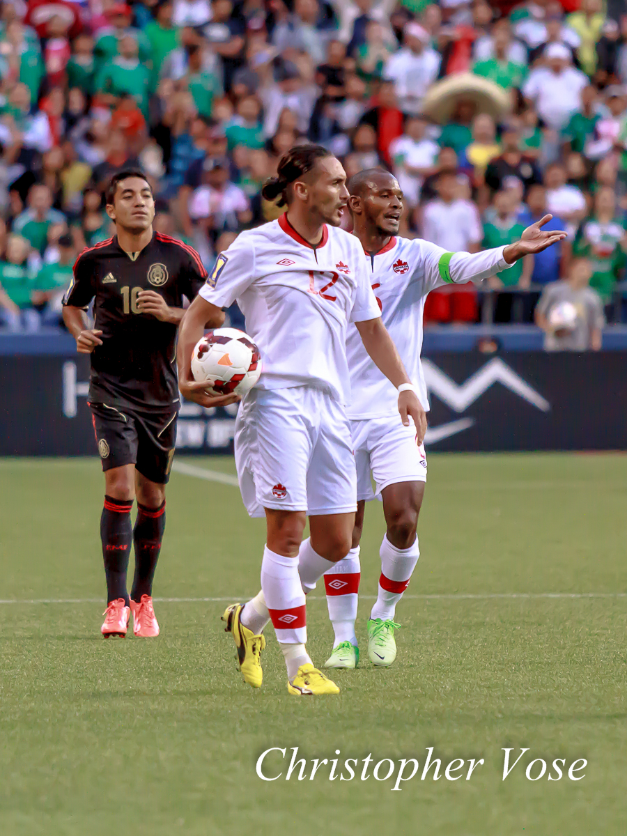 2013-07-11 Marco Fabián, Issey Nakajima-Farran, and Julian de Guzman.jpg