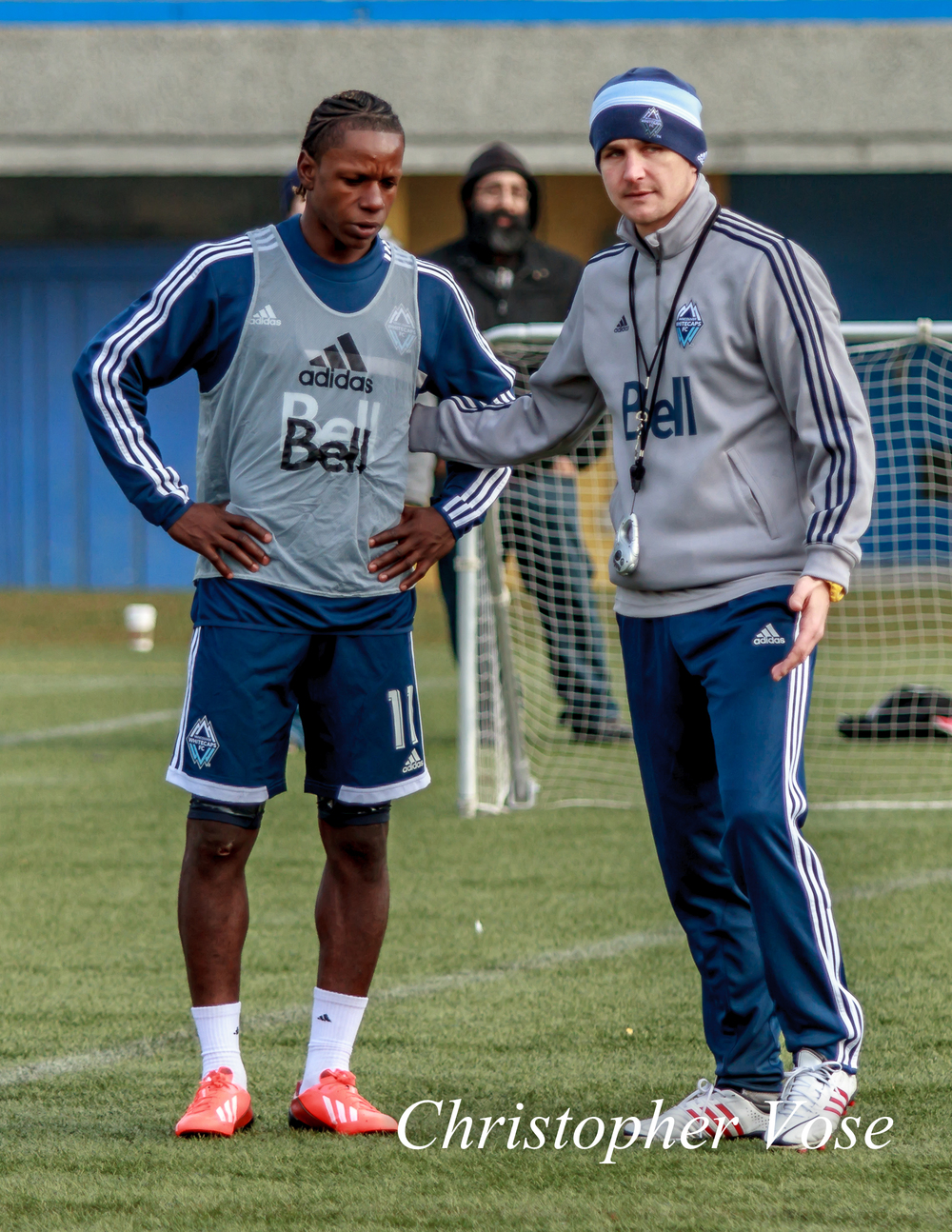 2014-01-27 Darren Mattocks and Carl Robinson.jpg
