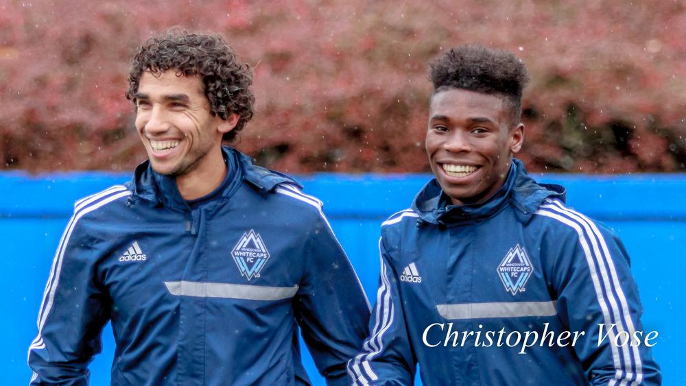 2014-03-04 Mehdi Ballouchy and Sam Adekugbe.jpg
