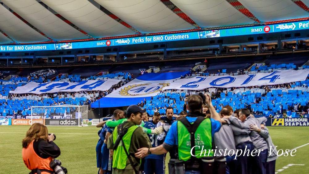 2014-03-08 Curva Collective, Rain City Brigade, and Vancouver Southsiders Tifo.jpg