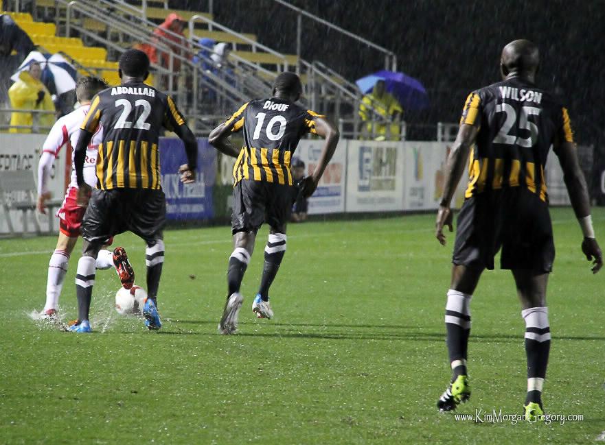 2014-04-18 Aminu Abdallah, Mamadou Diouf, and John Wilson.jpg