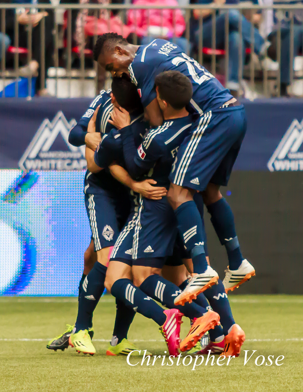 2014-05-03 Pedro Morales' First Goal Celebration.jpg