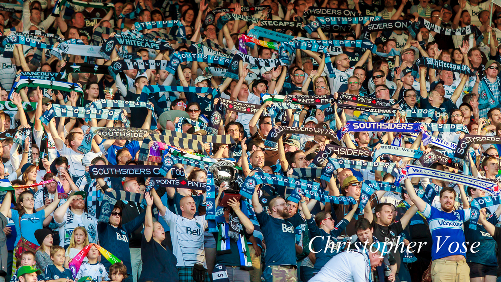 2014-06-01 Curva Collective, Rain City Brigade, and Vancouver Southsiders Goal Reaction (Fernandez).jpg