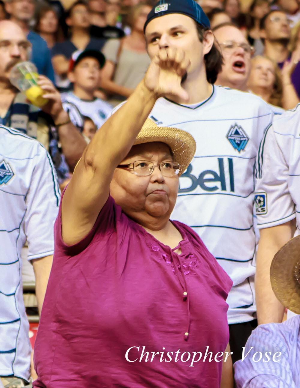2014-07-12 Vancouver Whitecaps FC Supporter Goal Reaction (Torres).jpg