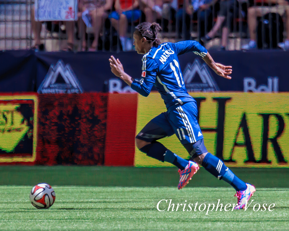 Darren Mattocks scored his third goal in three matches. In Chicago on Wednesday, he can try to make it four for four.