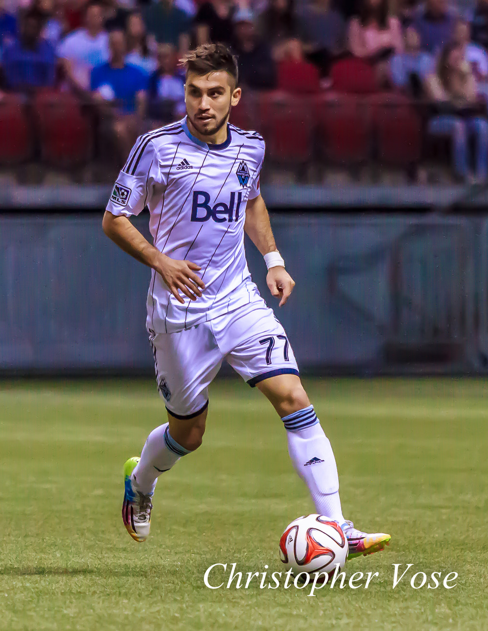 Pedro Morales wore the captain's armband for the second game in a row. Could he be Vancouver's next permanent captain? We think so.