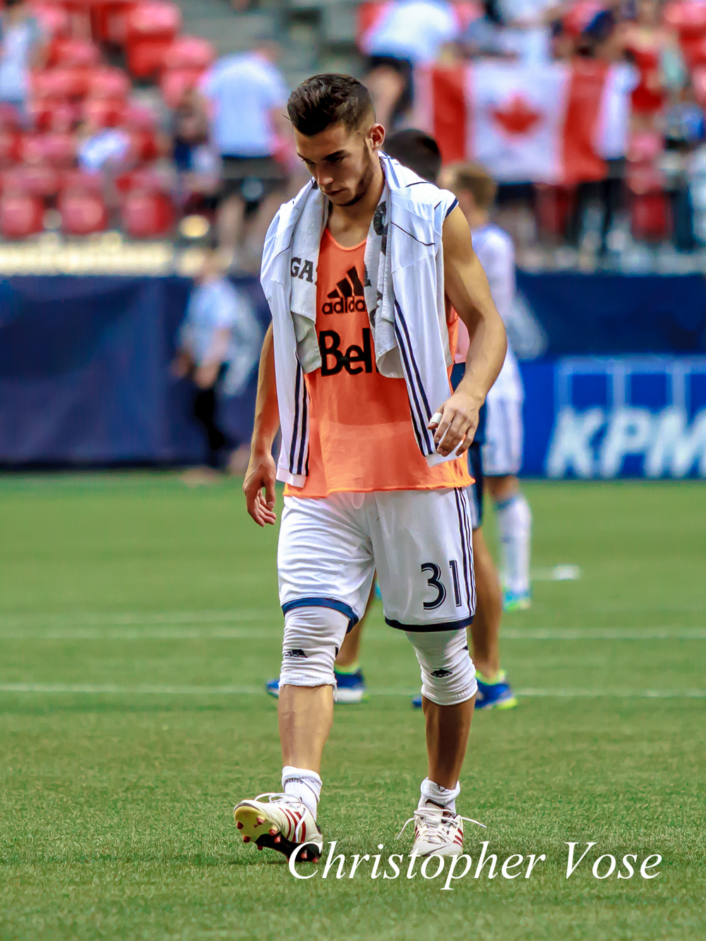 Russell Teibert, the Canadian Soccer Jesus, did everything in Carson on Saturday night and was worthy of the armband in Morales' absence.