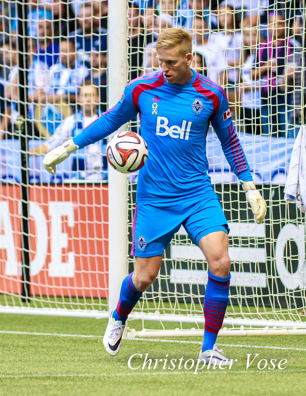 David Ousted may not have kept a clean sheet, but he certainly kept the Whitecaps in the game, and maybe the Cup