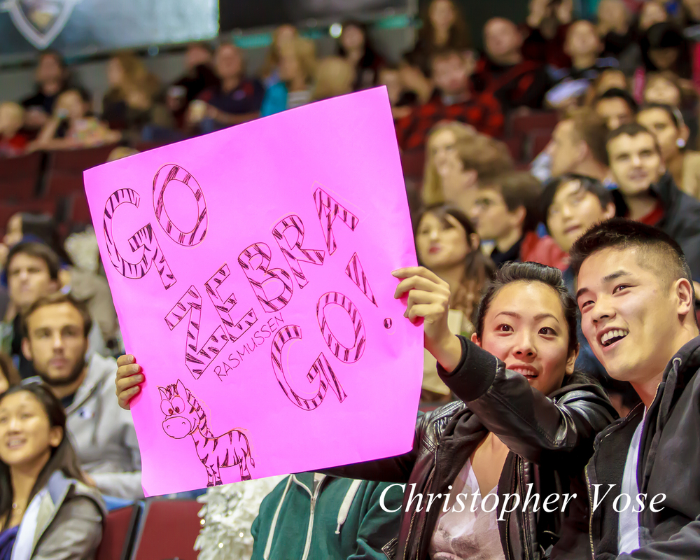 2014-10-03 Vancouver Giants Supporters.jpg