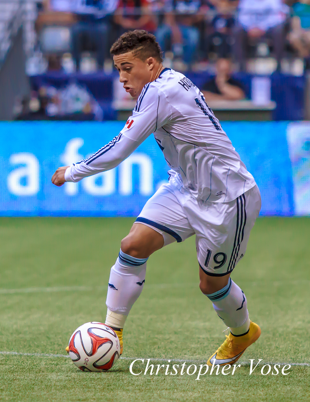Erik Hurtado performed a valueable service in holding the ball up near the box and letting the midfielders get into the play leading to the first goal.