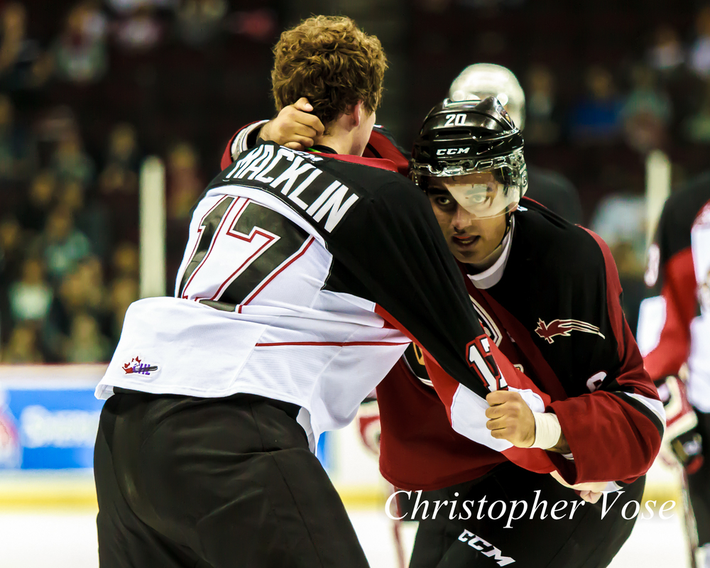 2014-10-05 Aaron Macklin and Arvin Atwal Fight.jpg