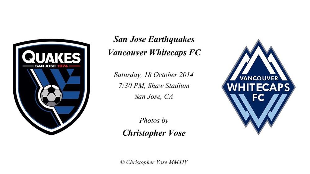 2014-10-18 Round 33; San Jose Earthquakes v Vancouver Whitecaps FC.jpg