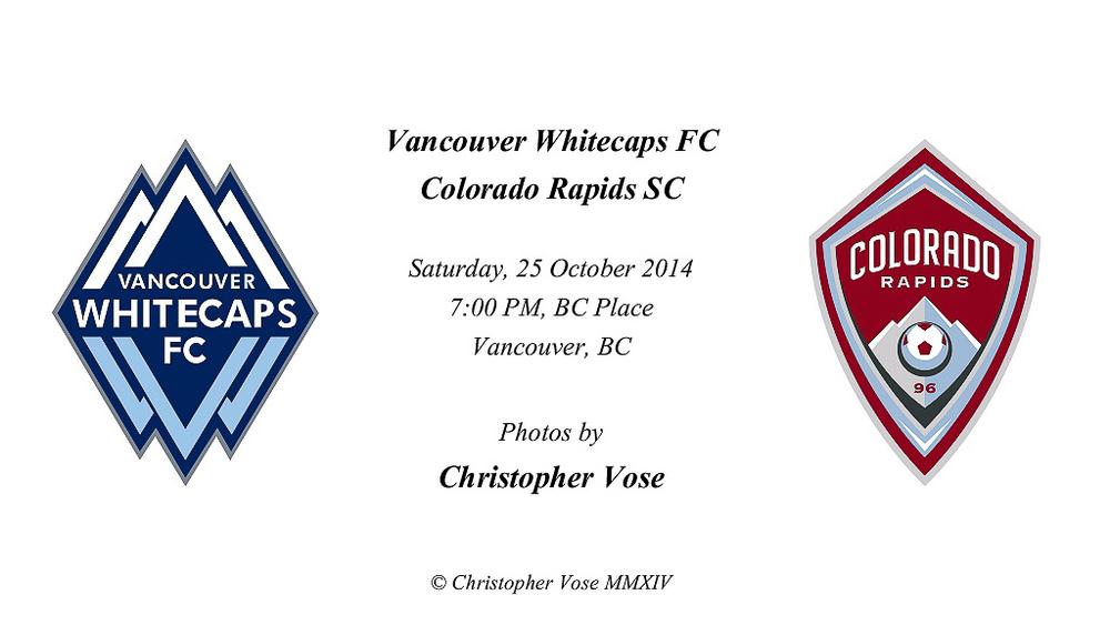 2014-10-25 Round 34; Vancouver Whitecaps FC v Colorado Rapids SC.jpg
