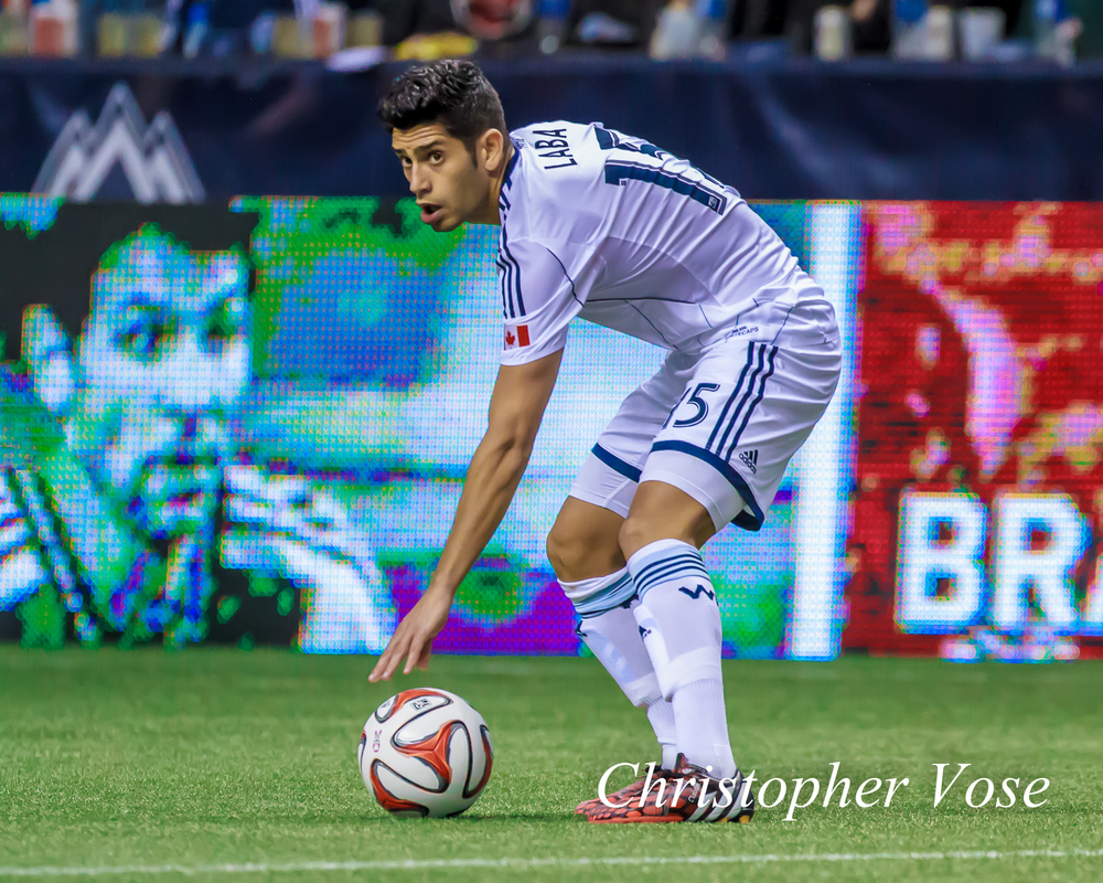 Matías Laba had an absolute stand out performance for the Whitecaps this year.