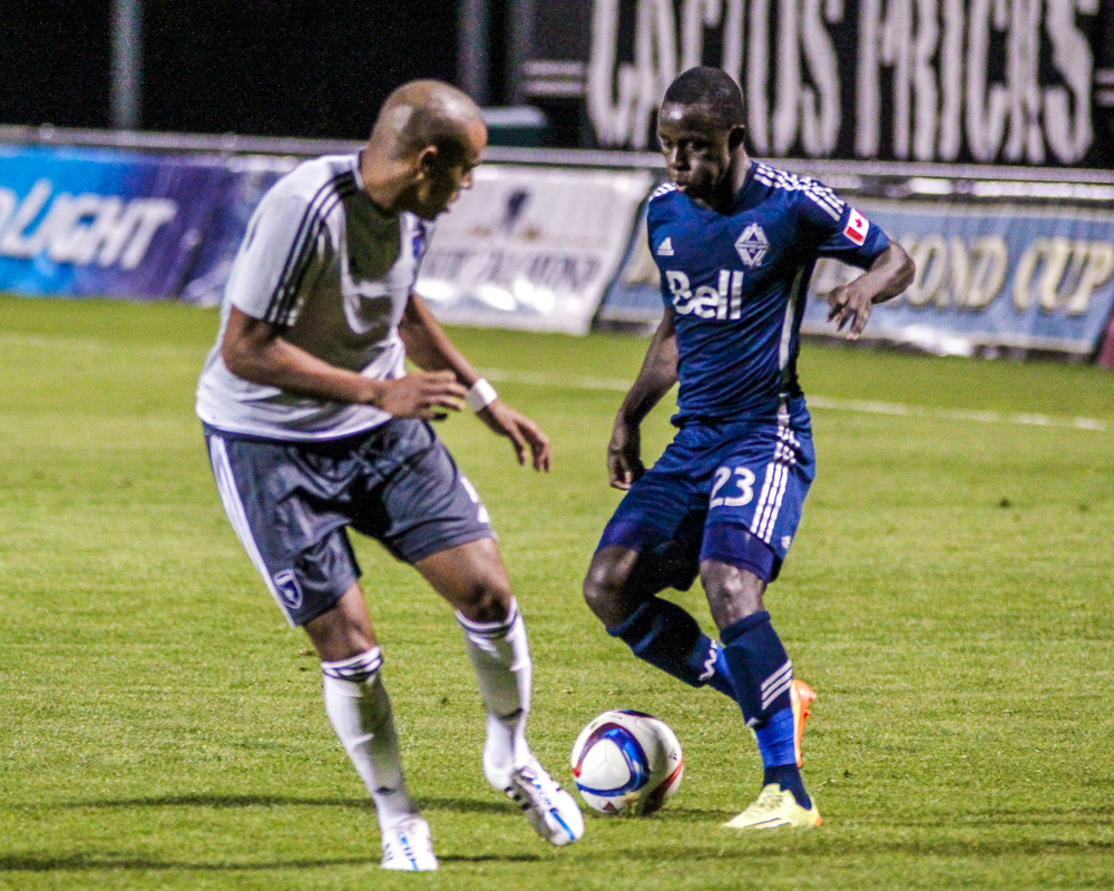 Scooter scored to share the spoils with San Jose and many other words that begin with 's.' Photo provided by Vancouver Whitecaps FC.