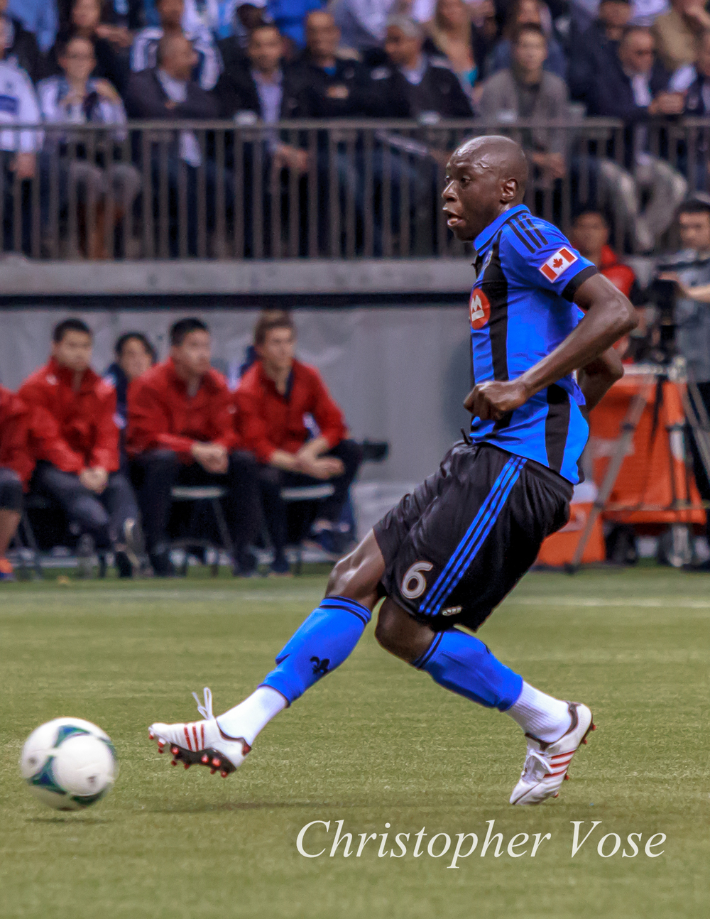 While he was not born in Montreal, Hassoun Camara has been with the Impact since their NASL days.