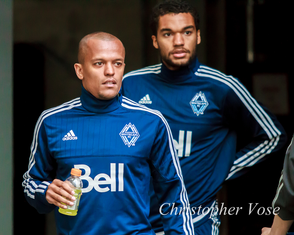 2015-03-06 Robert Earnshaw and Caleb Clarke.jpg