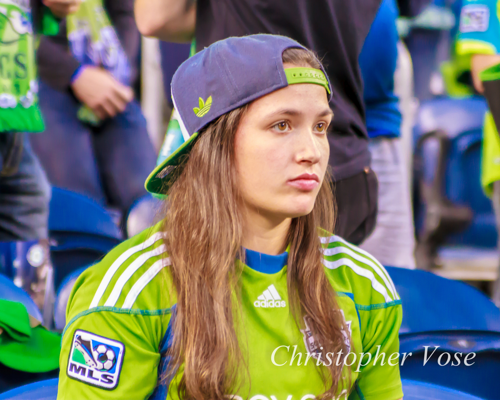 The Seattle Supporters didn't have much to smile about on Saturday against San Jose.