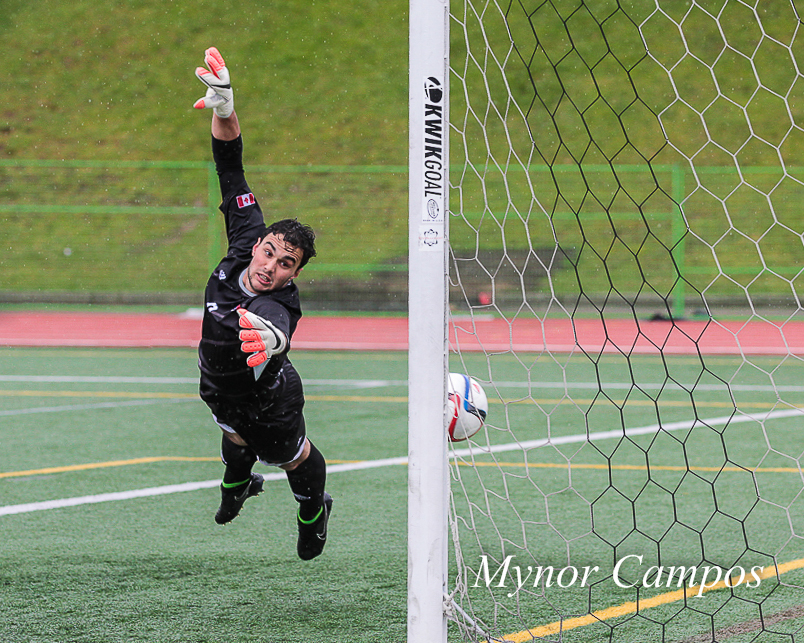 One of the four goals Mackenzie Pridham scored on Tuesday. Photo by Mynor Campos.