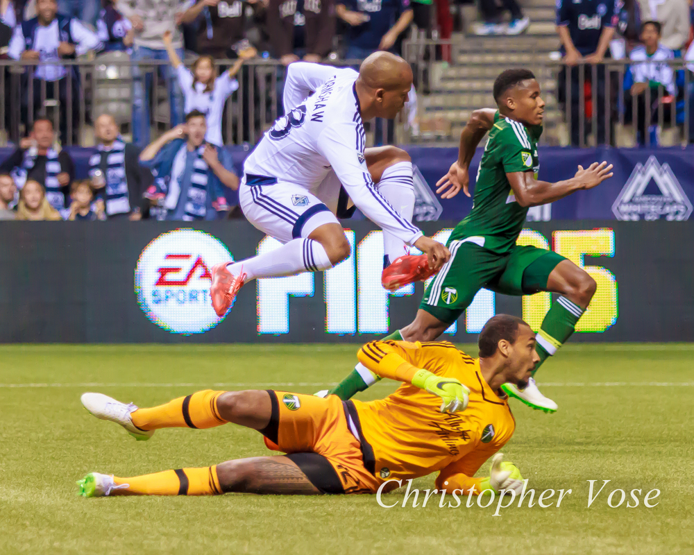 Robert Earnshaw took flight against the Portland Timbers on the stroke of ninety.