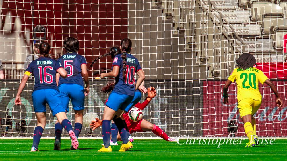 2015-06-08 Ligia Moreira, Mayra Olvera, Ambar Torres, Shirley Berruz, and Genevieve Ngo Mbeleck.jpg