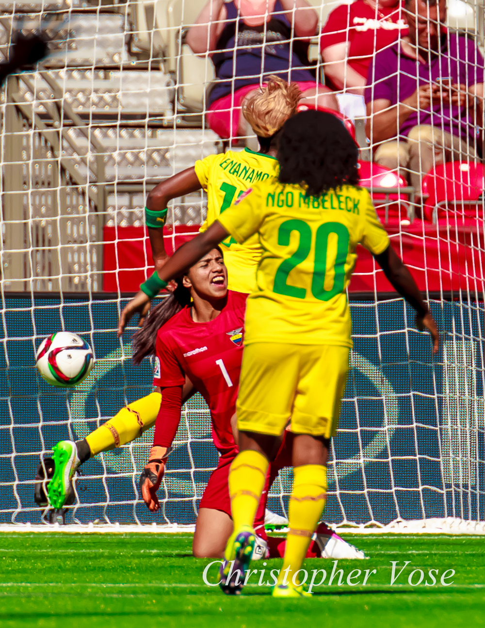 2015-06-08 Gaelle Enganamouit's First Goal.jpg