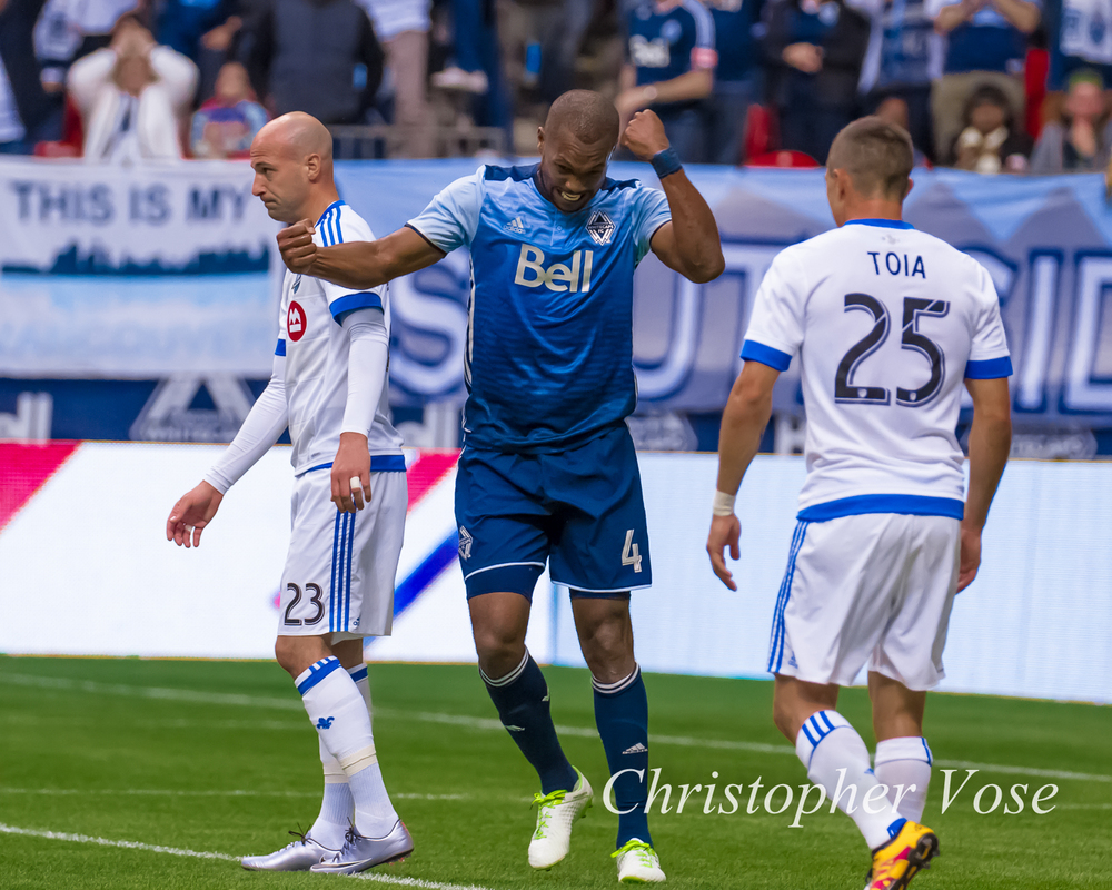 2016-03-06 Laurent Ciman, Kendall Waston, and Donny Toia.jpg