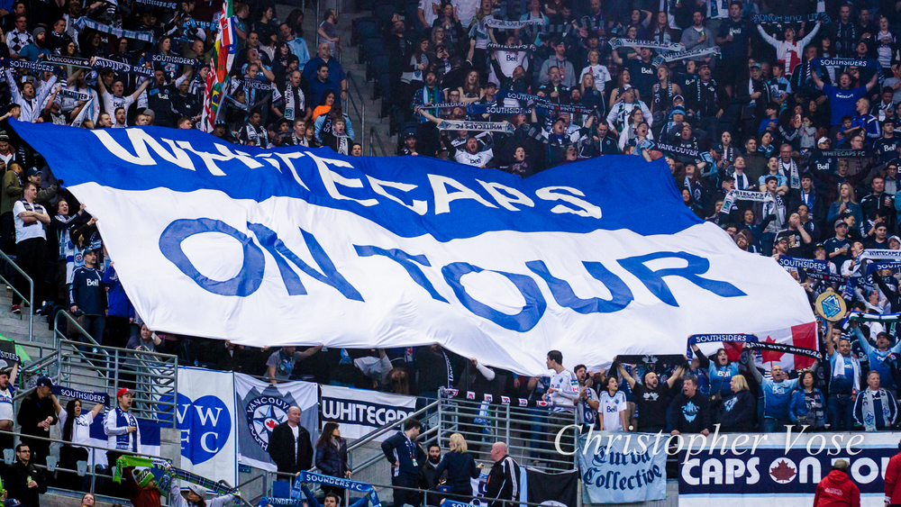 2016-03-19 Curva Collective, Rain City Brigade, and Vancouver Southsiders Tifo.jpg
