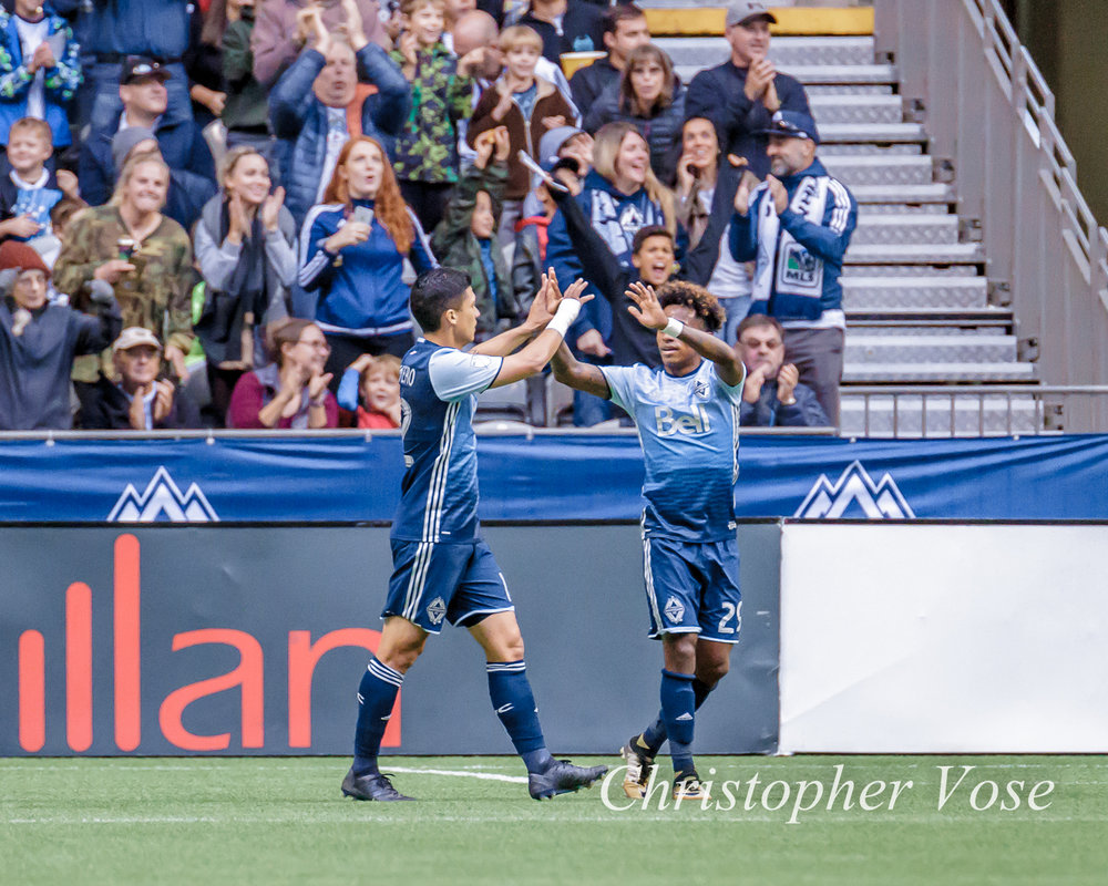2017-10-15 Yordy Reyna Goal Celebration.jpg