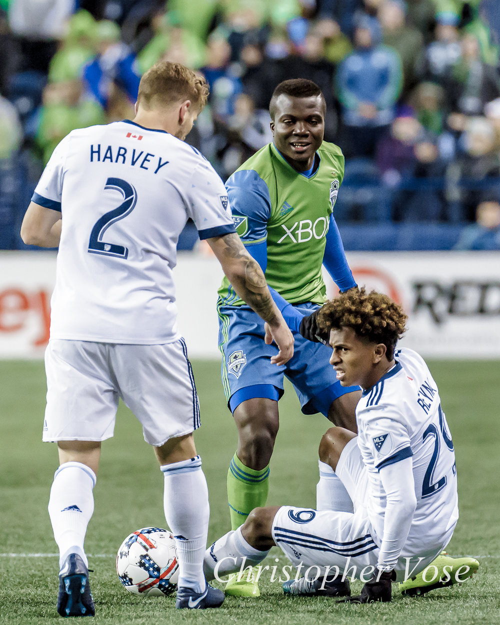 2017-11-02 Jordan Harvey, Nouhou Tolo, and Yordy Reyna.jpg