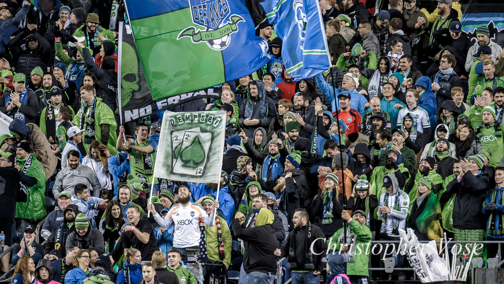 2017-11-02 Emerald City Supporters Goal Reaction (Dempsey's Second).jpg