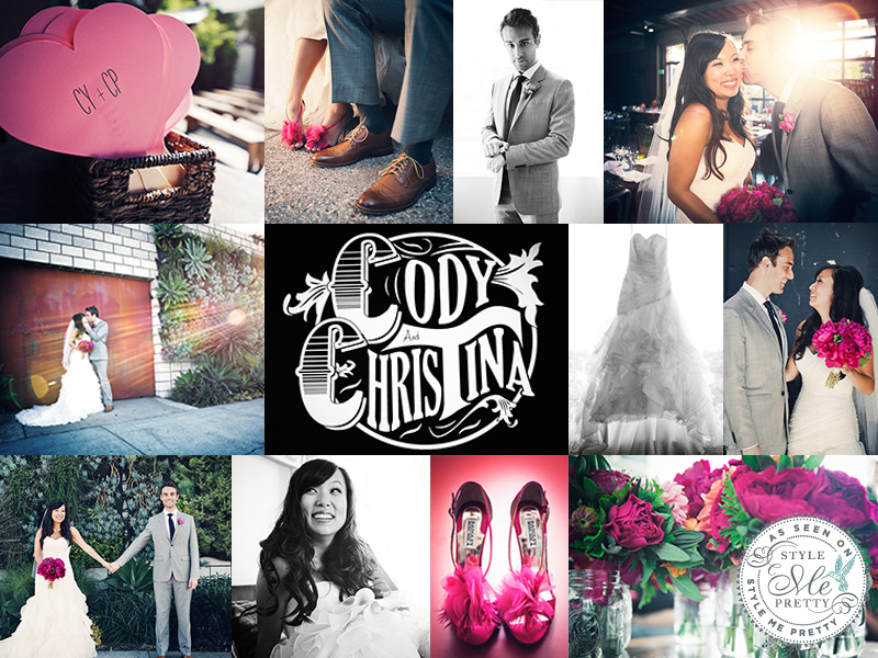 Cody & Christina featured on Style Me Pretty | www.vitaeweddings.com