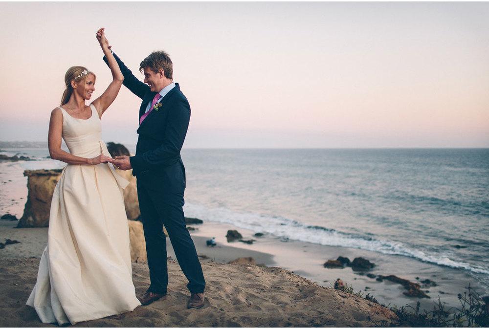 Scott + Eileen | Agoura Hills & El Matador State Beach | Malibu, California | www.vitaeweddings.com