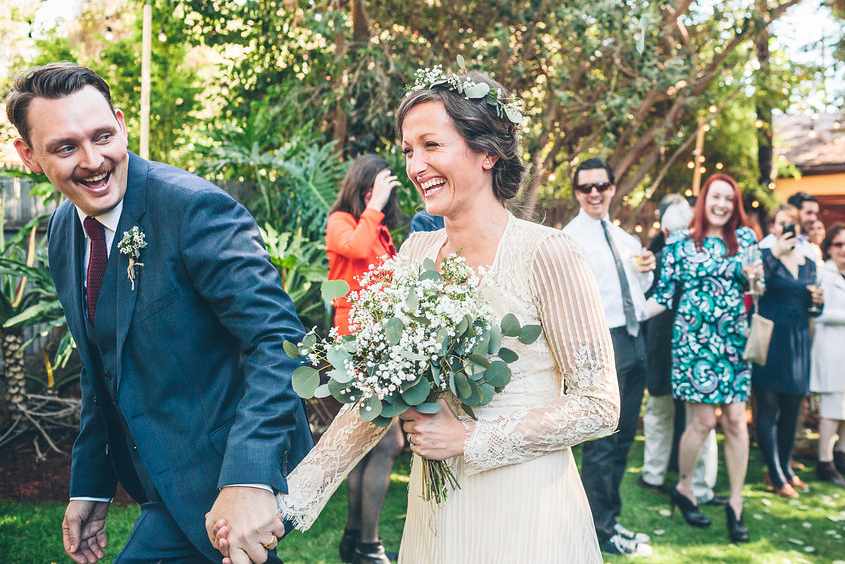 "- ""OMG just logged in! The pictures look so good!!!! Thank you for capturing our wedding day so beautifully.""- Anais + Dax"