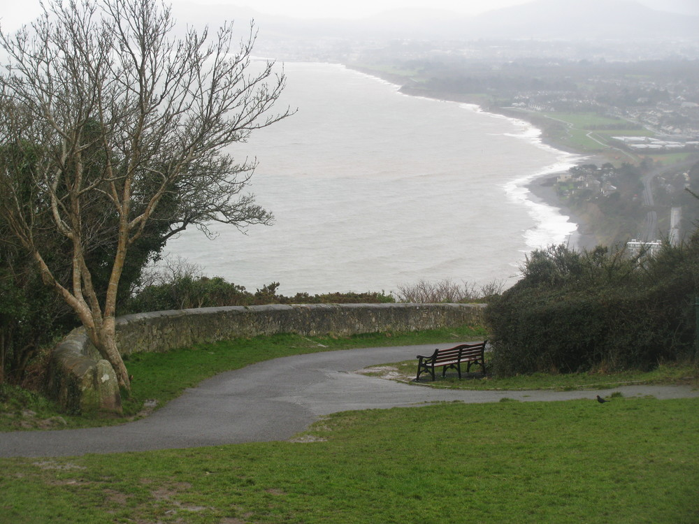 Photography by cebowe View of Dublin Bay from Victoria Hill, Killiney, Co. Dublin, Ireland ~ 31 January 2014 Gorgeous......even in the rain.
