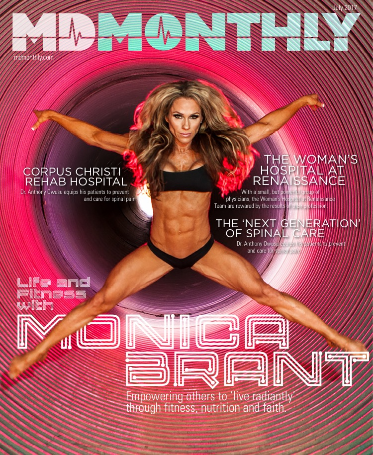 Fitness Profile - MD MONTHLY - Monica Brant Being a country girl from Texas, Monica Brant's adventurous spirit led her to California, where the fitness movement was happening back in 1995.