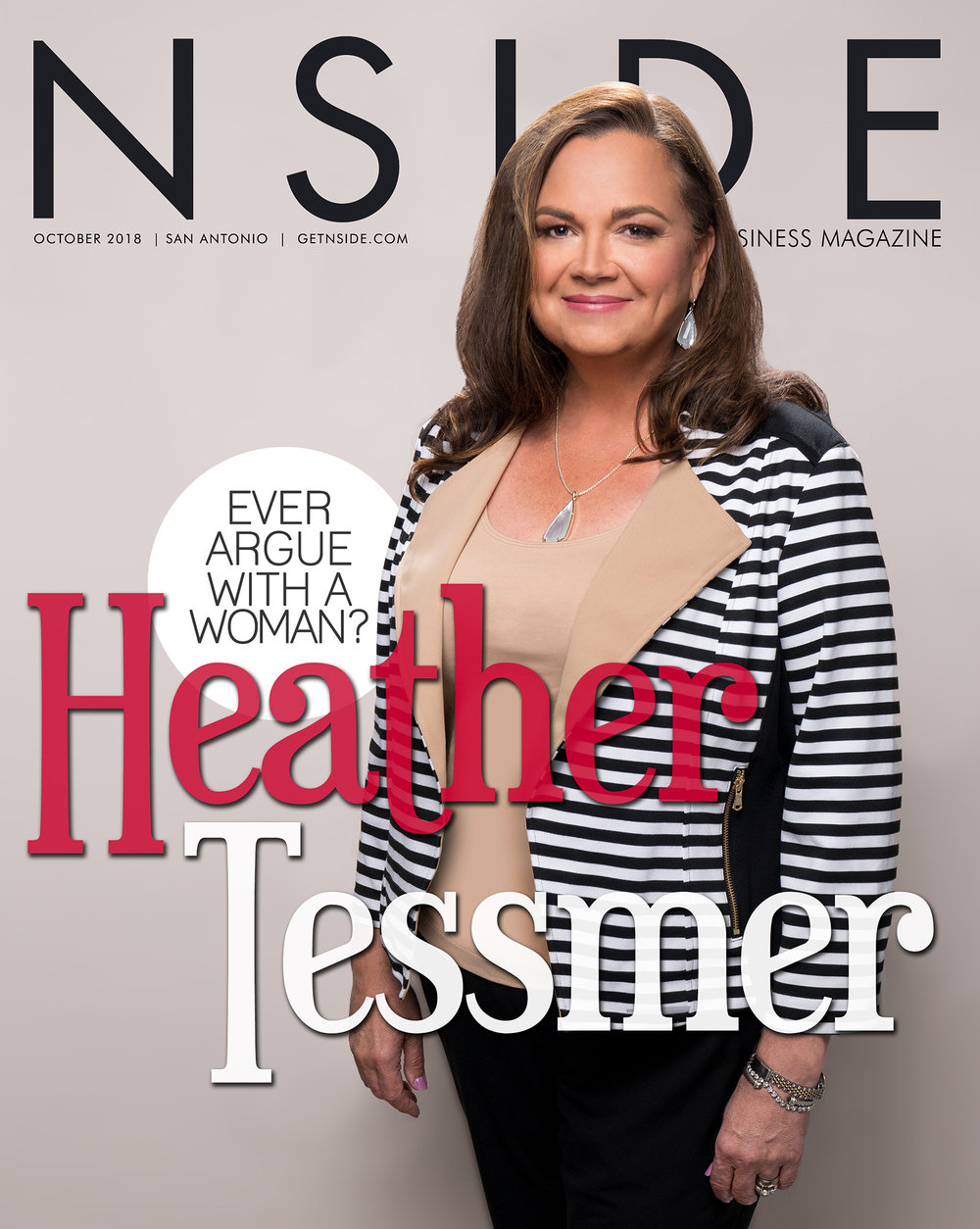 Business Profile - NSIDE - If Heather Tessmer looks familiar, it's because most likely you've seen her face before while driving along San Antonio's highways.