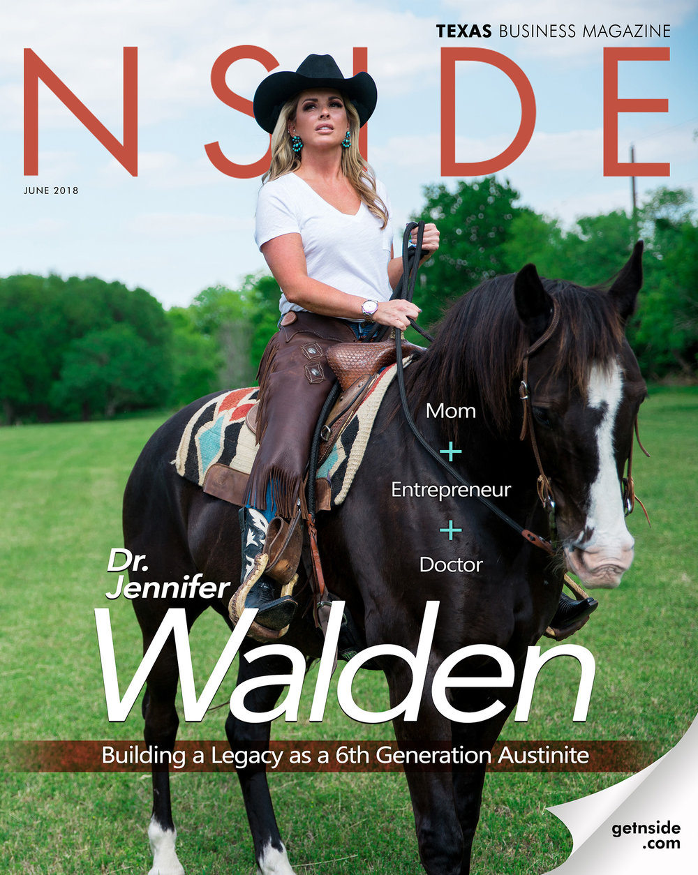 """Doctor Profile - NSIDE - """"First and foremost, I'm a mother, an entrepreneur, a businesswoman and I'm a plastic surgeon"""", Dr. Jennifer Walden says when asked to describe herself."""