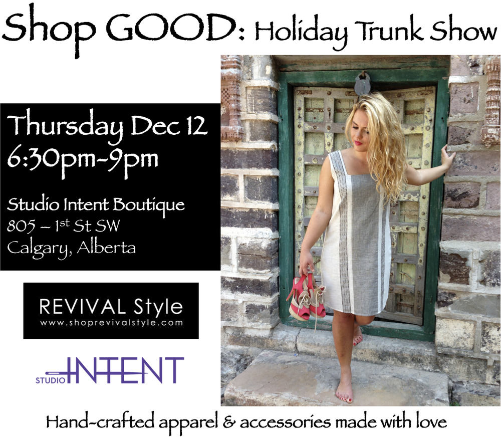 Studio Intent + REVIVAL Style trunk show