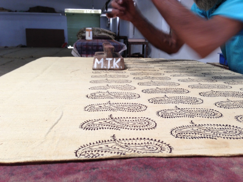 REVIVAL Style's ambi kala fabric in-production