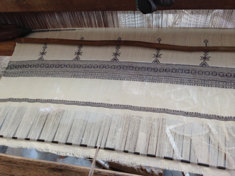 """Our """"original KOR"""" wool scarves in-production"""