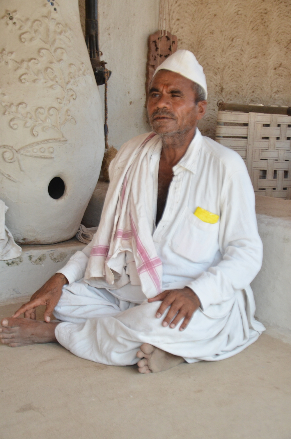 ShyamJi Bhai's Father, a pioneer in weaving and community development