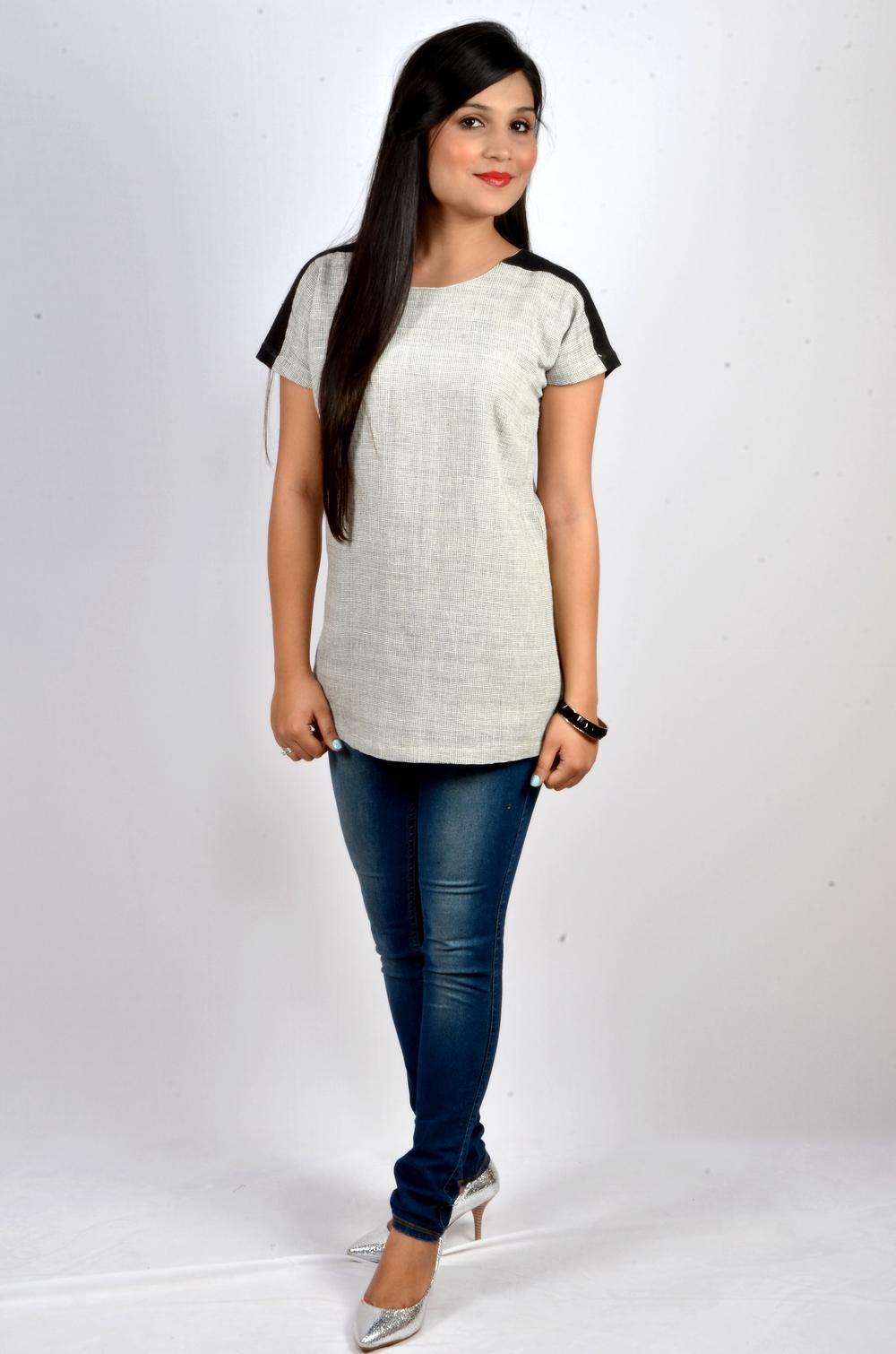 REVIVAL Style's gingam kala blouse