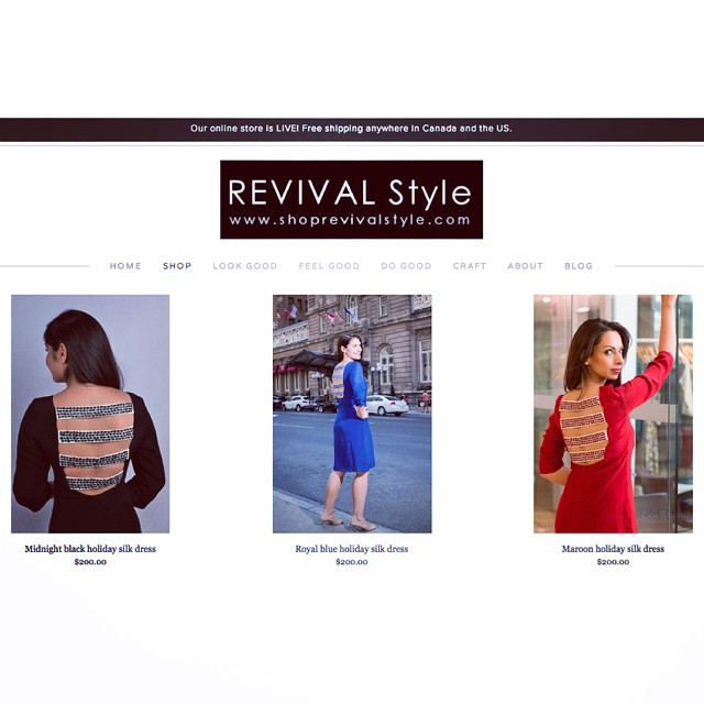 Our online store is LIVE! Shop @revivalstyle 24/7 at www.shoprevivalstyle.com. FREE SHIPPING anywhere in the US and Canada. #lookgood #feelgood #dogood #shop