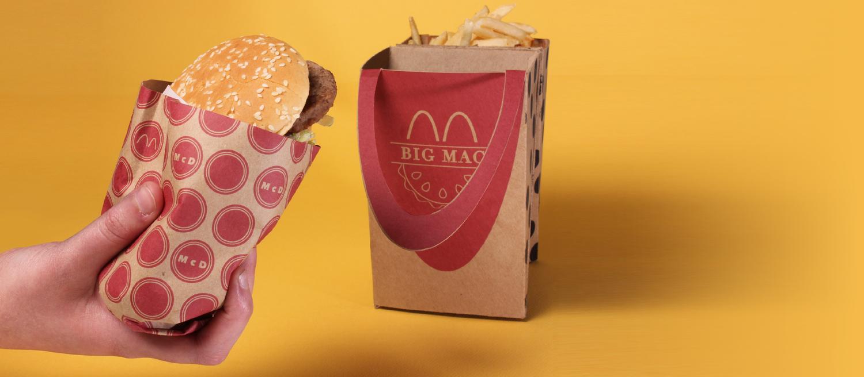 如果麦当劳包装变这样 就更方便啦-美国精品资讯