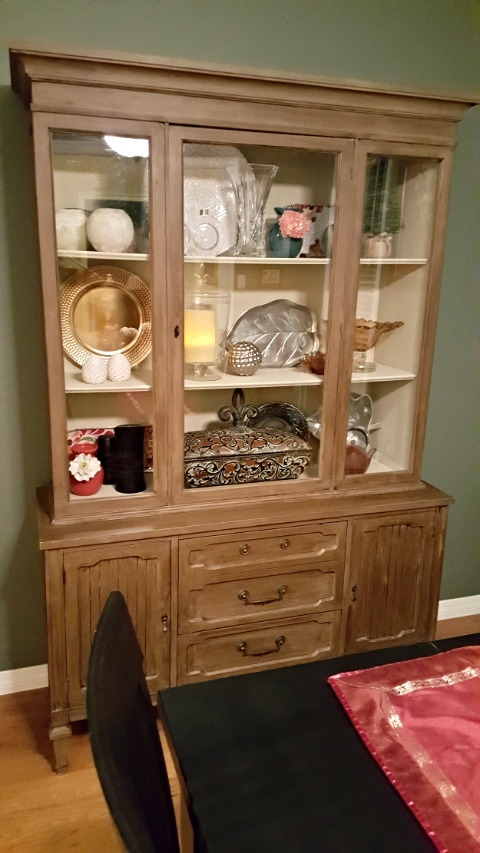China Cabinet Upcycle   COMPLETE   #AnnieSloanChalkPaint