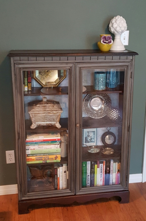 1940s Double Glass Door Bookcase & 1940s Double Glass Door Bookcase u2014 Monnie like Bonnie but with an M.