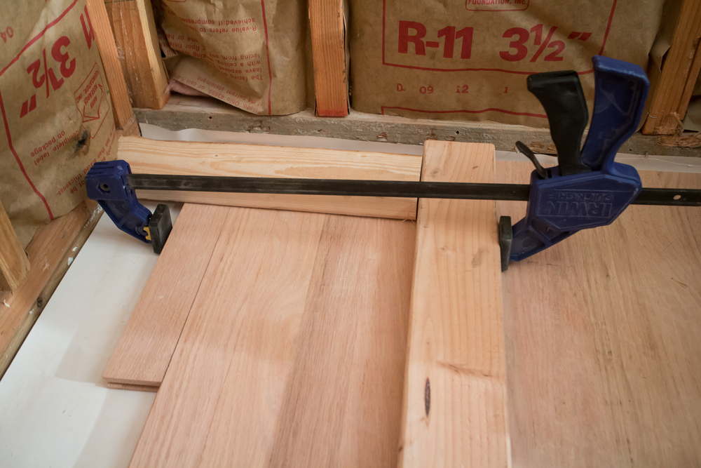 How To Lay Those Stubborn Last 5 Rows Of Flooring Work About House
